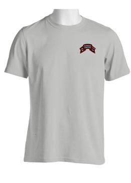"2-75th Ranger Battalion ""Original Scroll""  Cotton Shirt"