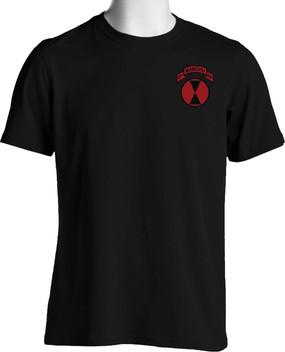 "7th Infantry Division ""Manchus"" (Pocket)  Cotton Shirt"