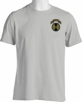 "7th Infantry Division ""Manchus"" (Pocket) Subdued Cotton Shirt"