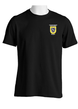 "1- 504th Parachute Infantry Regiment ""Crest & Flash""  (Pocket) Cotton Shirt"