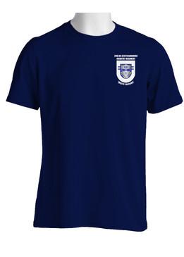 "2/325th Airborne Infantry Battalion ""Crest & Flash"" (Pocket)  Cotton Shirt"