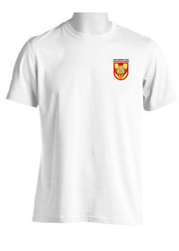 """3/4 ADA Battalion (Airborne) """"Flash & Crest"""" (Pocket) Moisture Wick Shirt"""