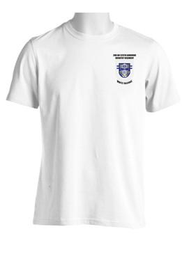 2/325 White Falcons Crest & Flash (Pocket)  Moisture Wick Shirt