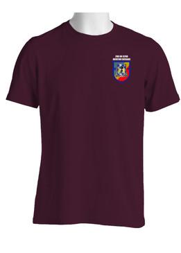 "2- 82nd Aviation ""Crest & Flash"" (Pocket)Cotton Shirt"