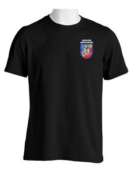 "3- 82nd Aviation ""Crest & Flash"" (Pocket)Cotton Shirt"