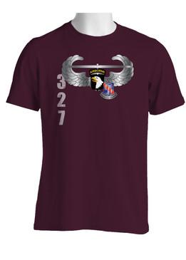 101st w/ 327th Infantry Regiment Crest Cotton Shirt