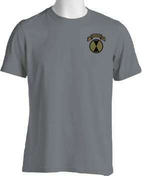 """27th Infantry Regiment """"Wolfhounds""""  (Pocket-Subdued) Moisture Wick"""