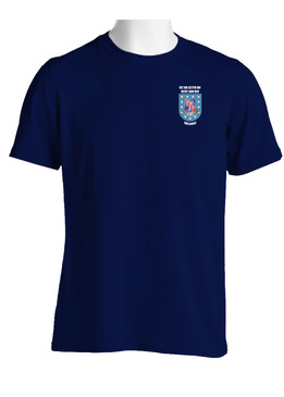 "1- 327th Infantry Regiment ""Crest & Flash""  Cotton Shirt"