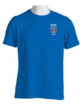 """2- 327th Infantry Regiment """"Crest & Flash""""  Cotton Shirt"""