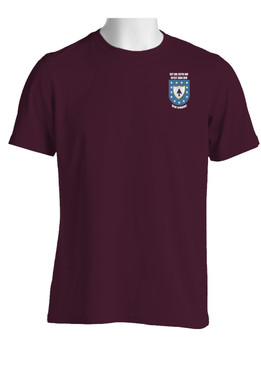 "1- 26th Infantry Regiment ""Crest & Flash""   Cotton Shirt"