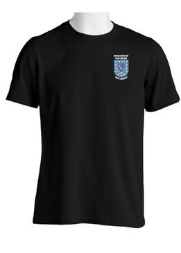 """2-506th Parachute Infantry Regiment """"Crest & Flash""""  Cotton Shirt"""