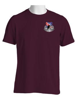 "327th Infantry Regiment ""Skull & Beret"" (Pocket) Cotton Shirt"