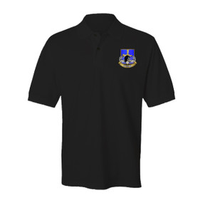 502nd Parachute Infantry Regiment Embroidered Cotton Polo Shirt (1)