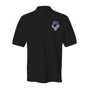506th Parachute Infantry Regiment Embroidered Cotton Polo Shirt