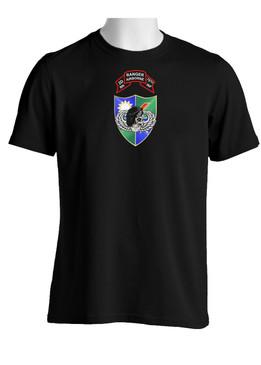 2-75 Ranger Battalion DUI-Original Scroll-Black Beret (Chest)  Cotton Shirt
