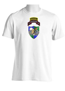 3-75 DUI (Tan Beret) w/ Ranger Tab-(Chest)  Moisture Wick