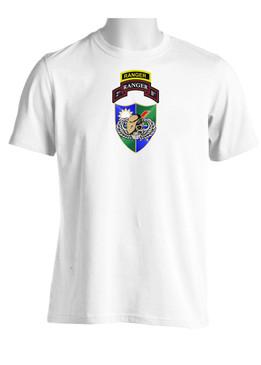 2-75th DUI Tan Beret w/ Ranger Tab (CHEST) Moisture Wick