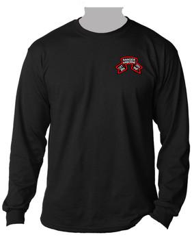 "1-75th Ranger Battalion ""Original Scroll"" Long-Sleeve Cotton Shirt (Pocket)"