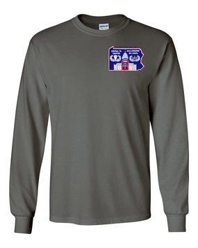 Central PA Chapter- Long-Sleeve Cotton Shirt