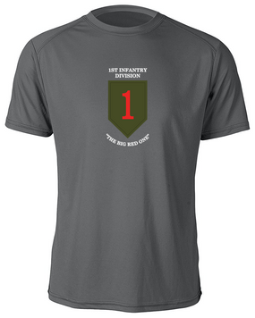 1st Infantry Division  Moisture Wick Shirt  (FF)