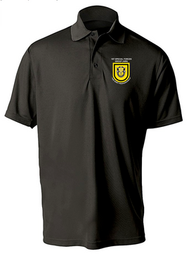 1st Special Forces Group Embroidered Moisture Wick Shirt (Paragon)