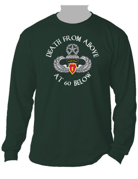 4th Brigade Combat Team (Airborne) Long-Sleeve Cotton Shirt -(FF)
