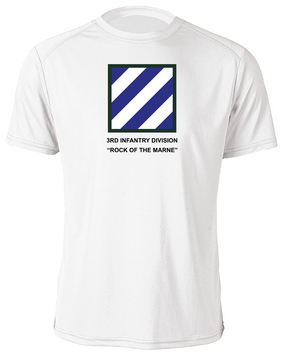 3rd Infantry Division Moisture Wick Shirt -(FF)