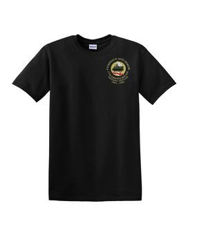 Company D 16th Armor  Cotton T-Shirt-(2017)