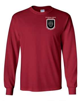 5th Special Forces Group (V1) Long-Sleeve Cotton Shirt