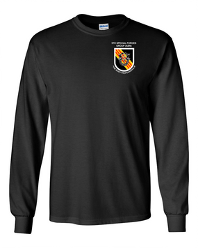 5th Special Forces Group (V2) Long-Sleeve Cotton Shirt