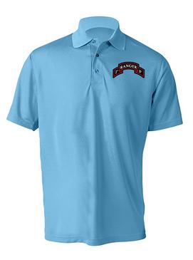 2-75 Ranger Battalion Embroidered Moisture Wick Shirt (Paragon)