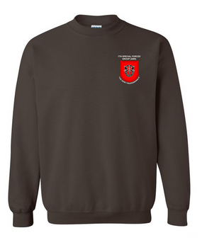 7th Special Forces Group Embroidered Sweatshirt