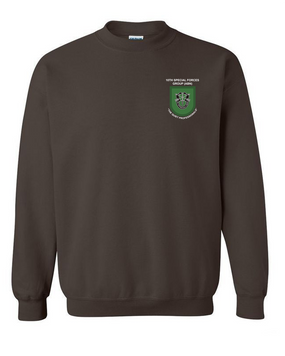 10th Special Forces Group Embroidered Sweatshirt