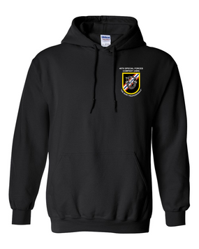 46th Special Forces Group  Embroidered Hooded Sweatshirt