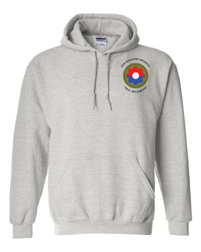 9th Infantry Division Embroidered Hooded Sweatshirt