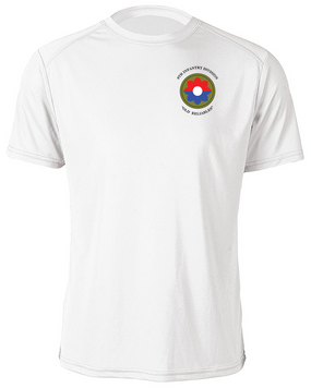 9th Infantry Division Moisture Wick Shirt (Pocket)