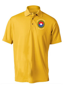 9th Infantry Division Embroidered Moisture Wick Shirt (Paragon)