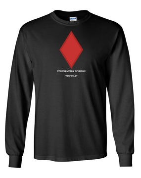 5th Infantry Division Long-Sleeve Cotton Shirt (FF)