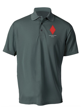 5th Infantry Division Embroidered Moisture Wick Shirt (Paragon)