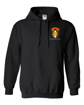 SETAF Embroidered Hooded Sweatshirt