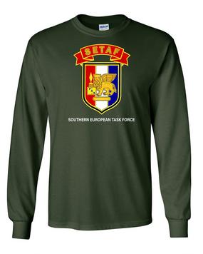 SETAF Long-Sleeve Cotton Shirt (Chest)