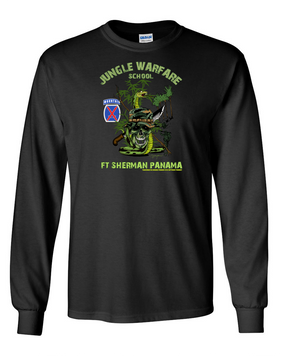 10th Mountain Division Jungle Master Long-Sleeve Cotton Shirt