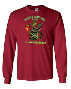25th Infantry Division (Airborne) Jungle Master Long-Sleeve Cotton Shirt