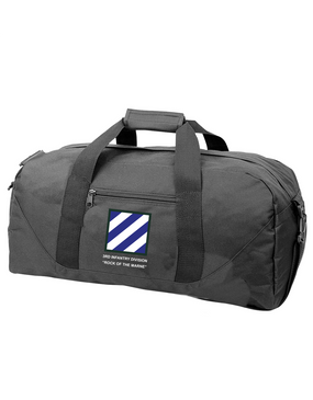 3rd Infantry Division Embroidered Duffel Bag