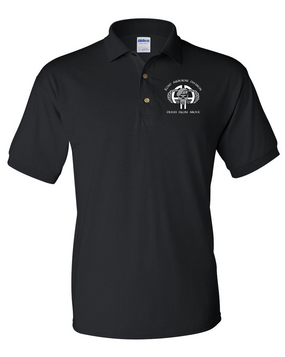 "82nd ""Punisher"" Embroidered Cotton Polo Shirt"