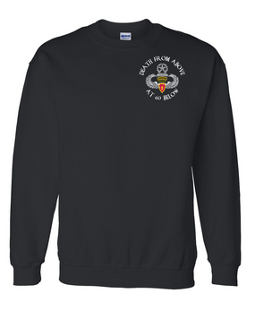 4th Brigade Combat Team (Airborne) w/ Ranger Tab Embroidered Sweatshirt
