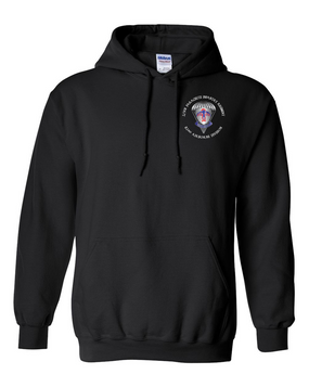 2-501st Embroidered Hooded Sweatshirt