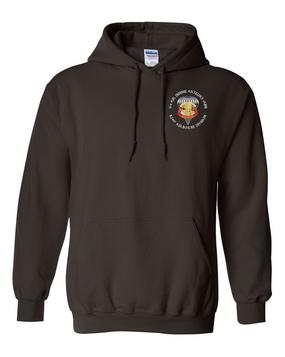 3/4 ADA  Embroidered Hooded Sweatshirt