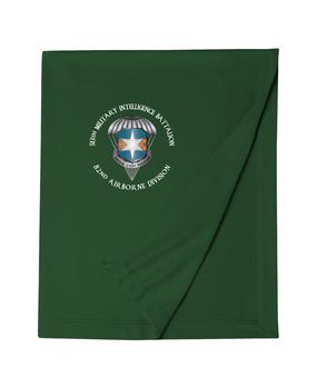 313th MI Battalion Embroidered Dryblend Stadium Blanket