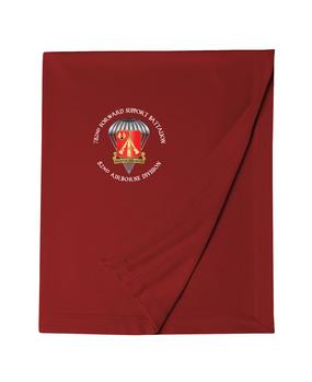 782nd Maintenance Battalion Embroidered Dryblend Stadium Blanket